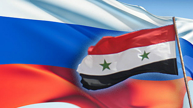 Russia-Syria-Flags
