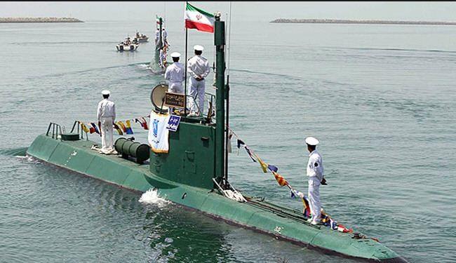 """غواصة """"فاتح"""" ستختبر لأول مرة خلال مناورات الجيش الايراني"""