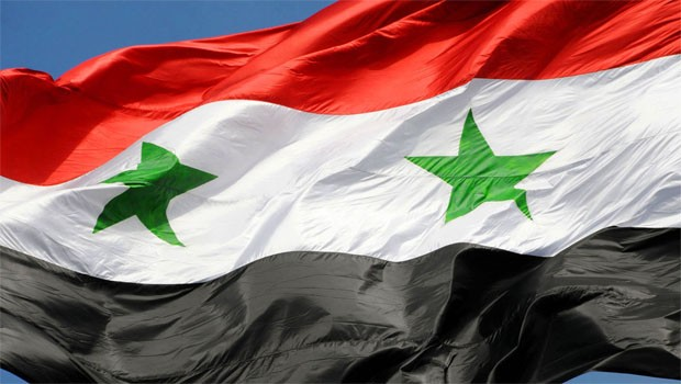 szíria zászló