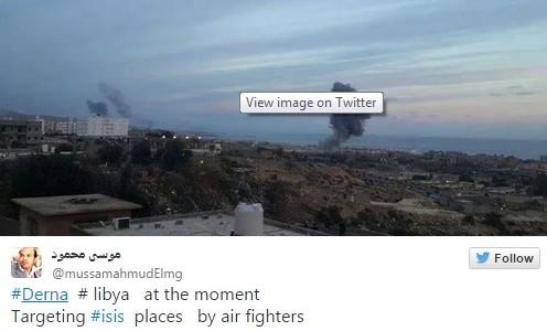 twitter líbia