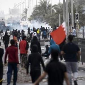 bahreini tüntetők