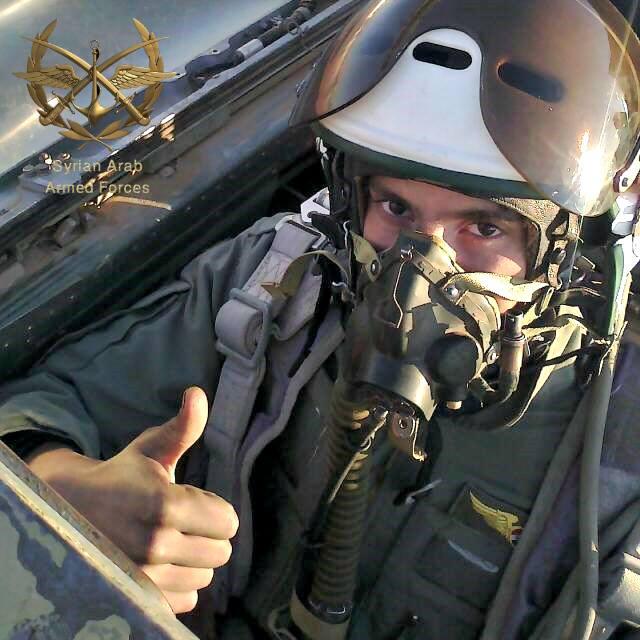 szíriai pilóta