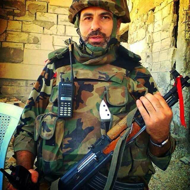 Akram Al-Khatib ezredes hősi halált halt Dzsizr Al-Shughurnál.