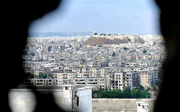 Syria-Syrian-Arab-Army-repels-an-attack-by-al-Nusra-on-Aleppo-'s-Central-Prison