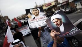 bahreini tüntetés
