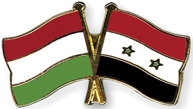 hungary syria flag