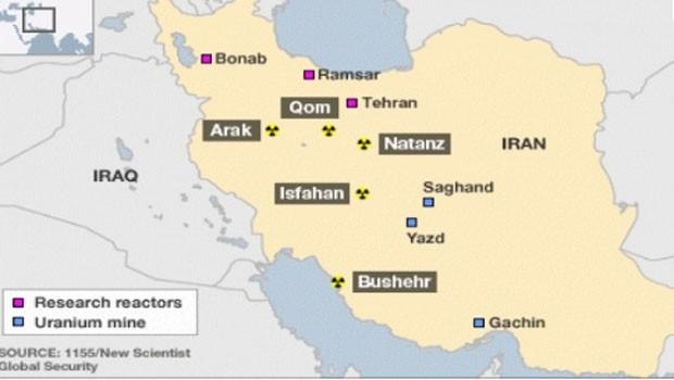 irán atomprogram