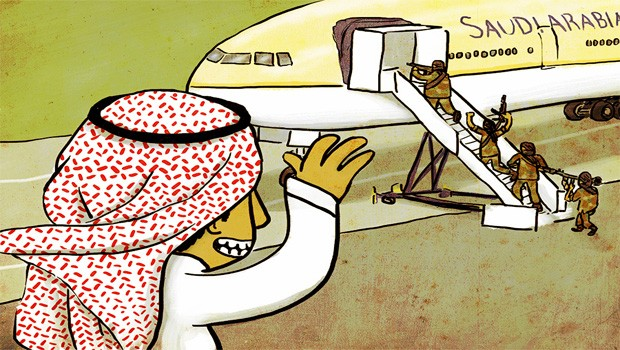 saud export terrorism