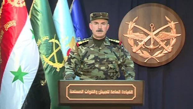 szíriai arab hadsereg szóvivője