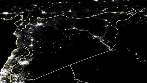 szíriai fények