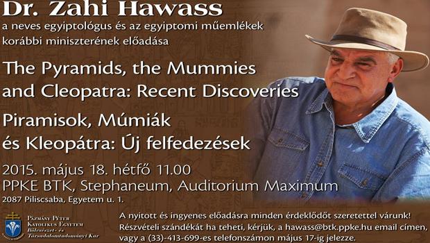 dr zahi hawass előadása