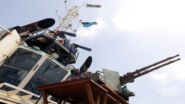 líbiai hajó