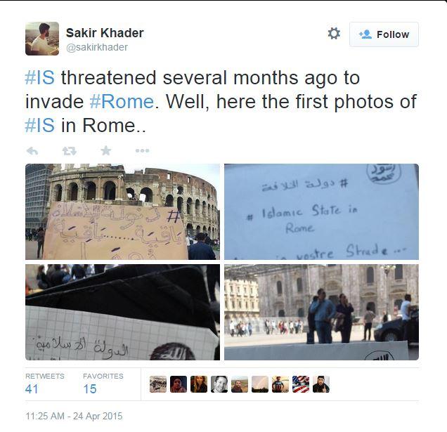 sakir-khader-isis-roma-minacce