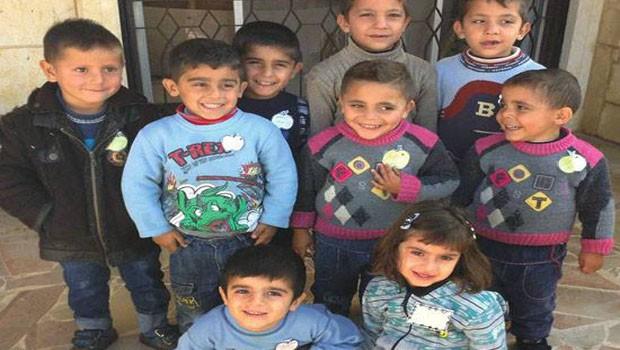 szíriai gyerekek