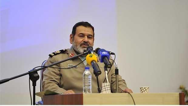 Hassan Firouzabadi, az Iráni Fegyveres Erők vezérőrnagya