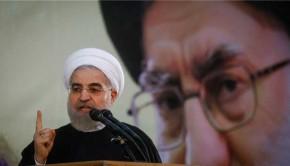 Hassan Rouhani Iráni elnöke