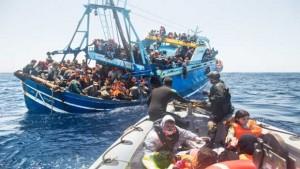 afrikai menekültek