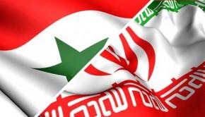iran syria flag