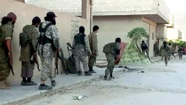 isis in kobani