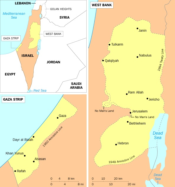 paelstine maps