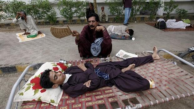 pakisztáni hőség
