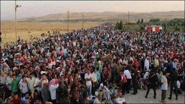 qaraqushi keresztény menekültek