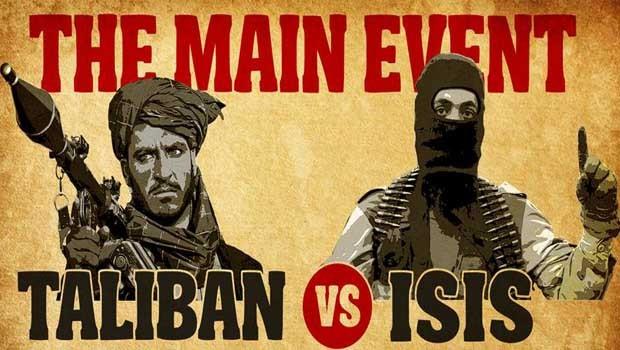 taliban vs isis