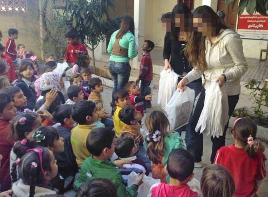 Sára nővér és csapata különös figyelmet fordít a gyerekekre