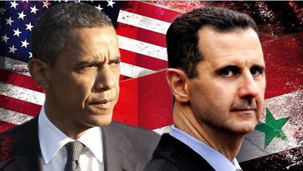 assad vs obama