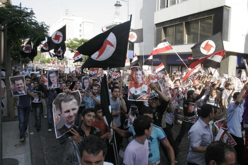ssnp tüntetés