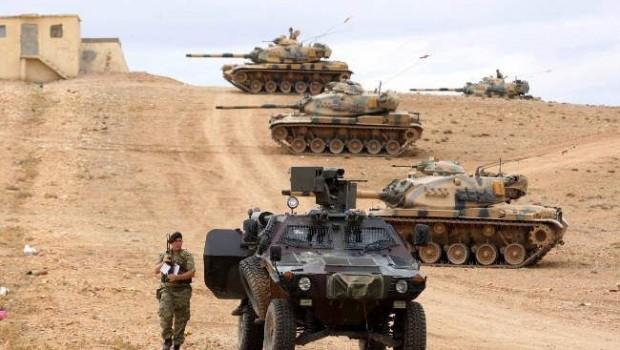 A török hadsereg fokozza jelenlkétét a szír határ mentén ,sé hermetikusan lezárja az átkelőket a terroristák elől.