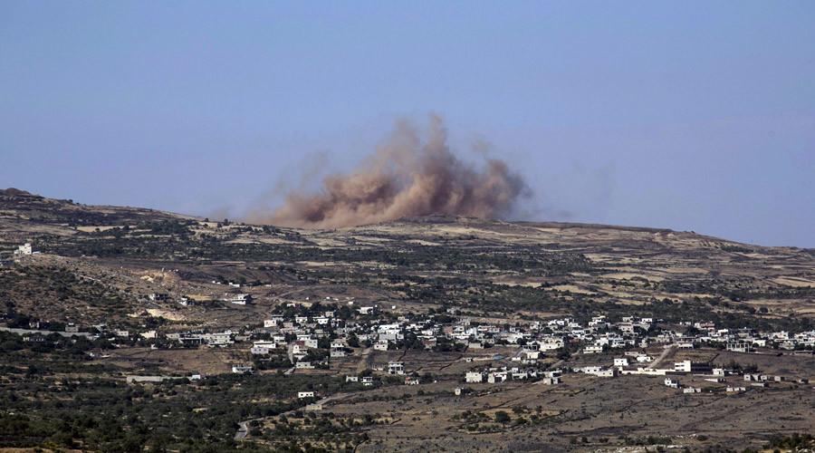 izrael támadása golánon2
