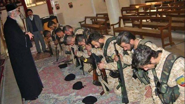 keresztány szír katonák