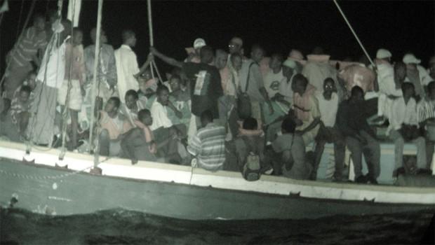 menekültek afrikai