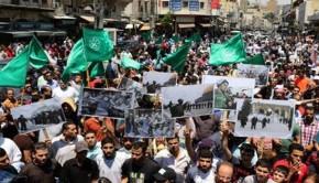 palesztin tüntetés