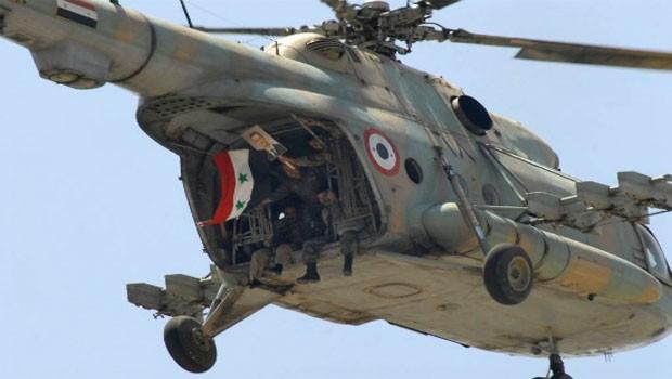 szíriai helikopter