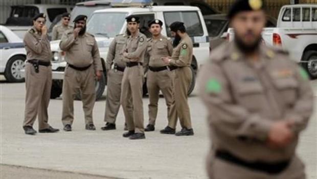 szaúdi rendőrség