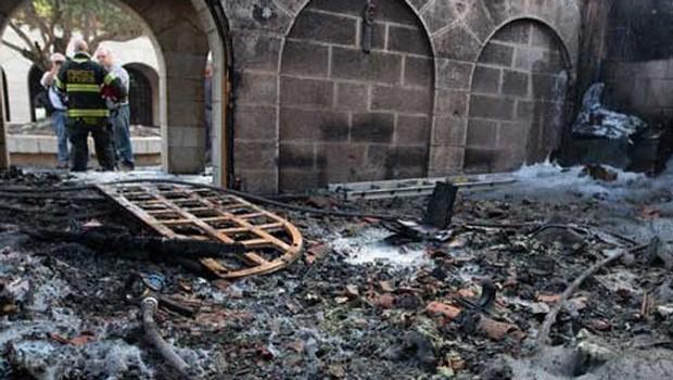 tabiga templom palesztina