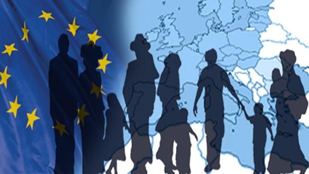 menekültek europa