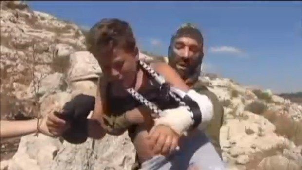 palesztin kisfiú