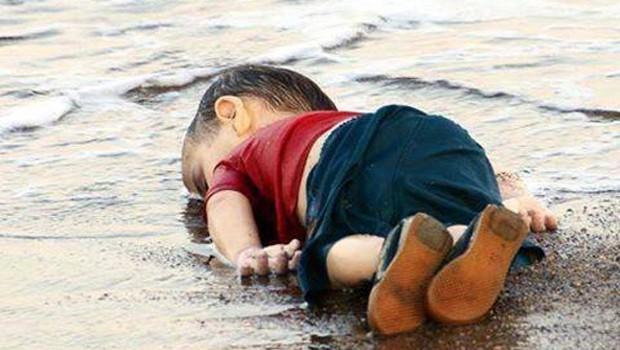 szíriai gyerek