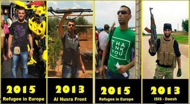 terroristák európában