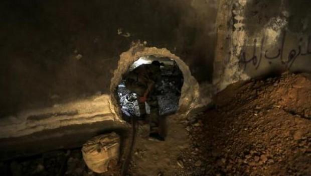 Jobar egyik alagútja
