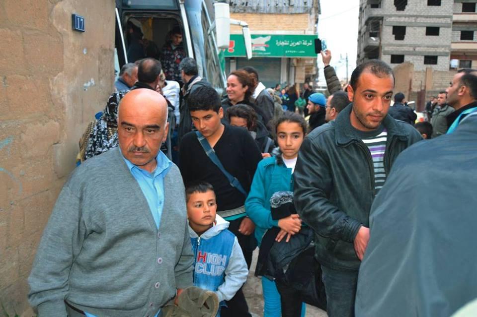 A dzsihádisták elűzték őket a szülőfalujukból. Ezeknek a szíriai keresztényeknek sikerült Kasmili városába menekülniük