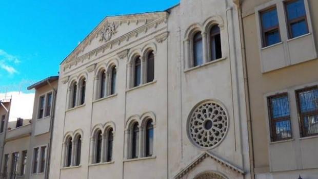Szír ortodox templom Isztambul
