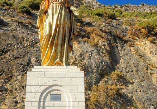 Selcuk Mária szobor