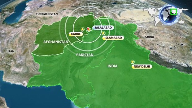 afganisztáni földrengés