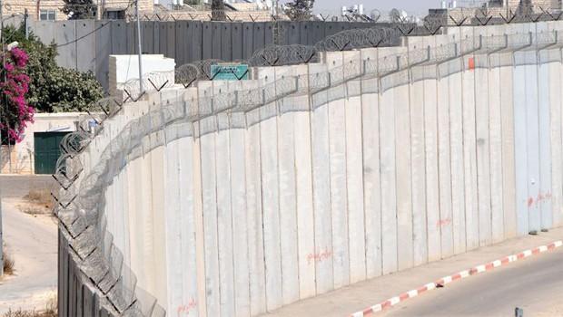 ciszjordániai fal