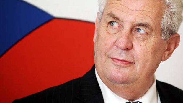 cseh elnök