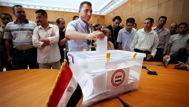 egyiptom választás